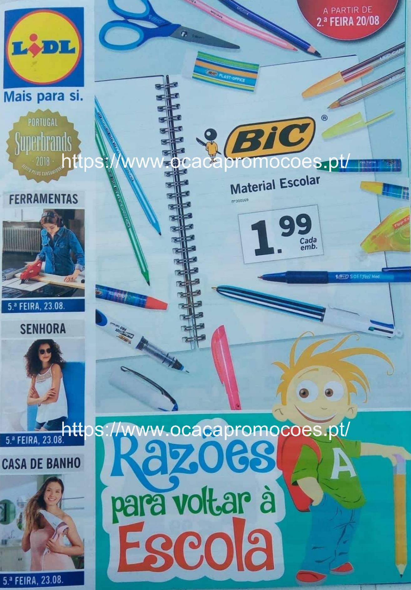 Antevisão e Review Folheto LIDL Bazar – promoções a partir 2