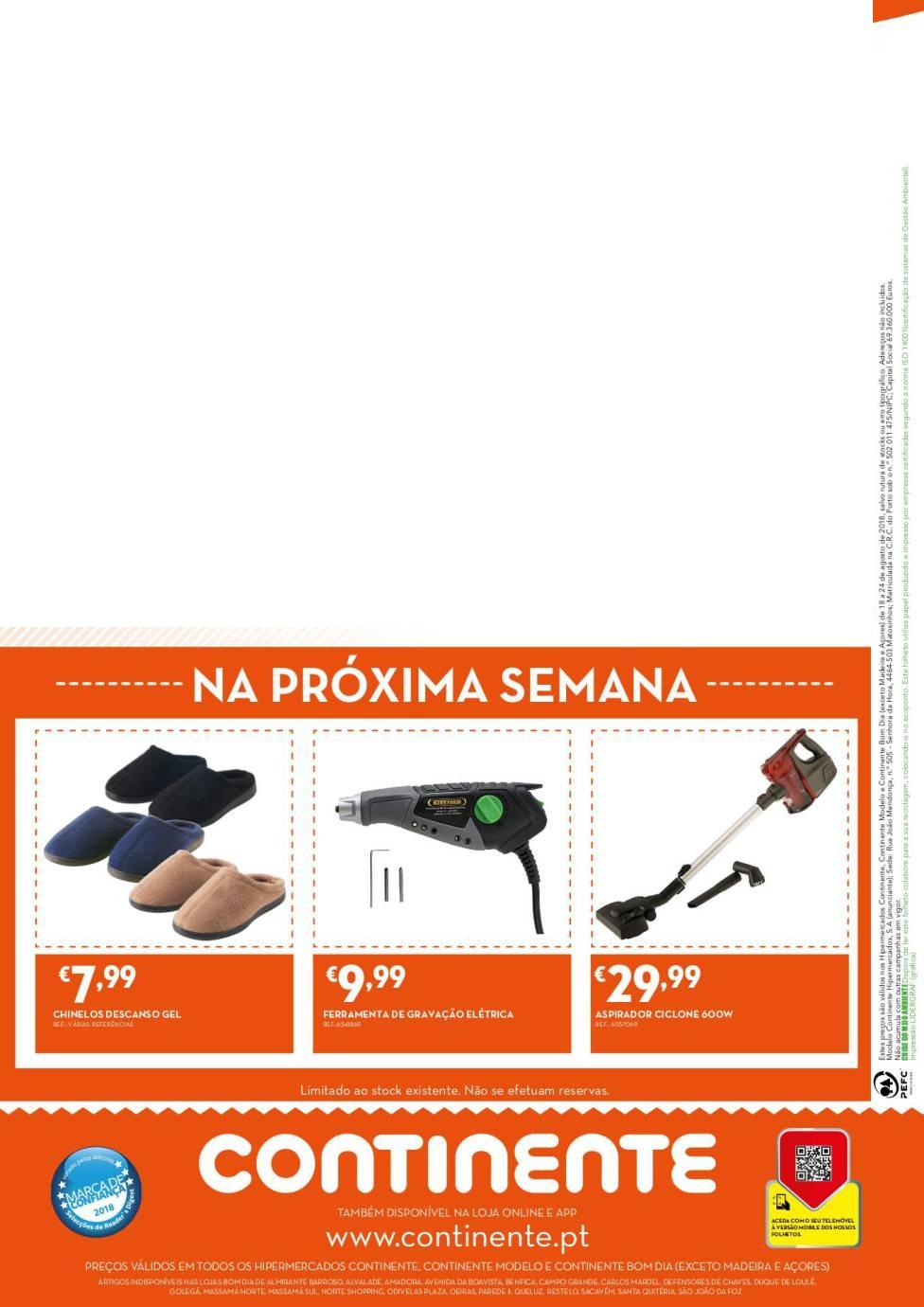 30446c21e54 Antevisão descontos Folheto Continente Bazarão 25 setembro a 1 outubro