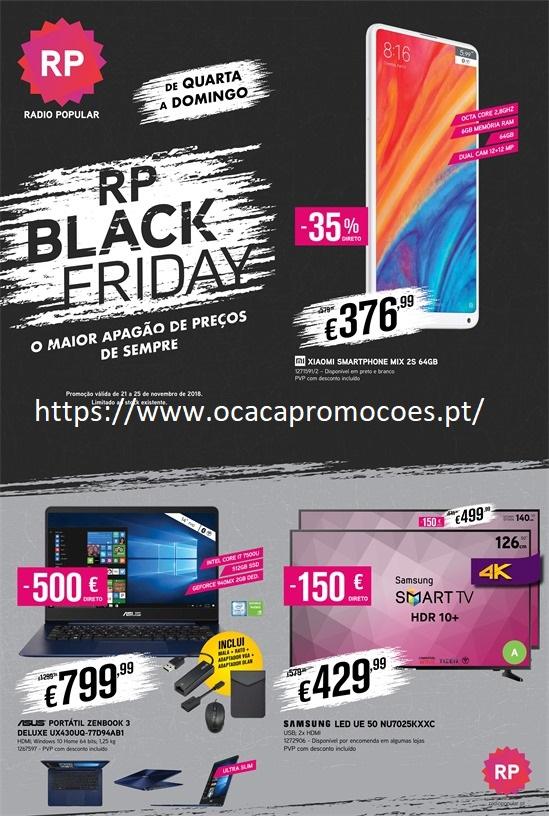b9d1f04375 Antevisão Folheto Rádio Popular Black Friday 21 a 25 novembro