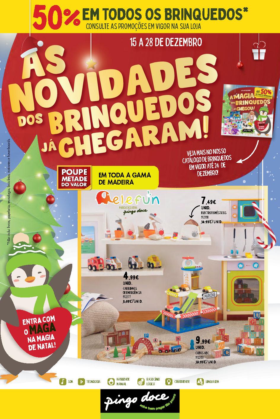 folheto pingo doce brinquedos Page1