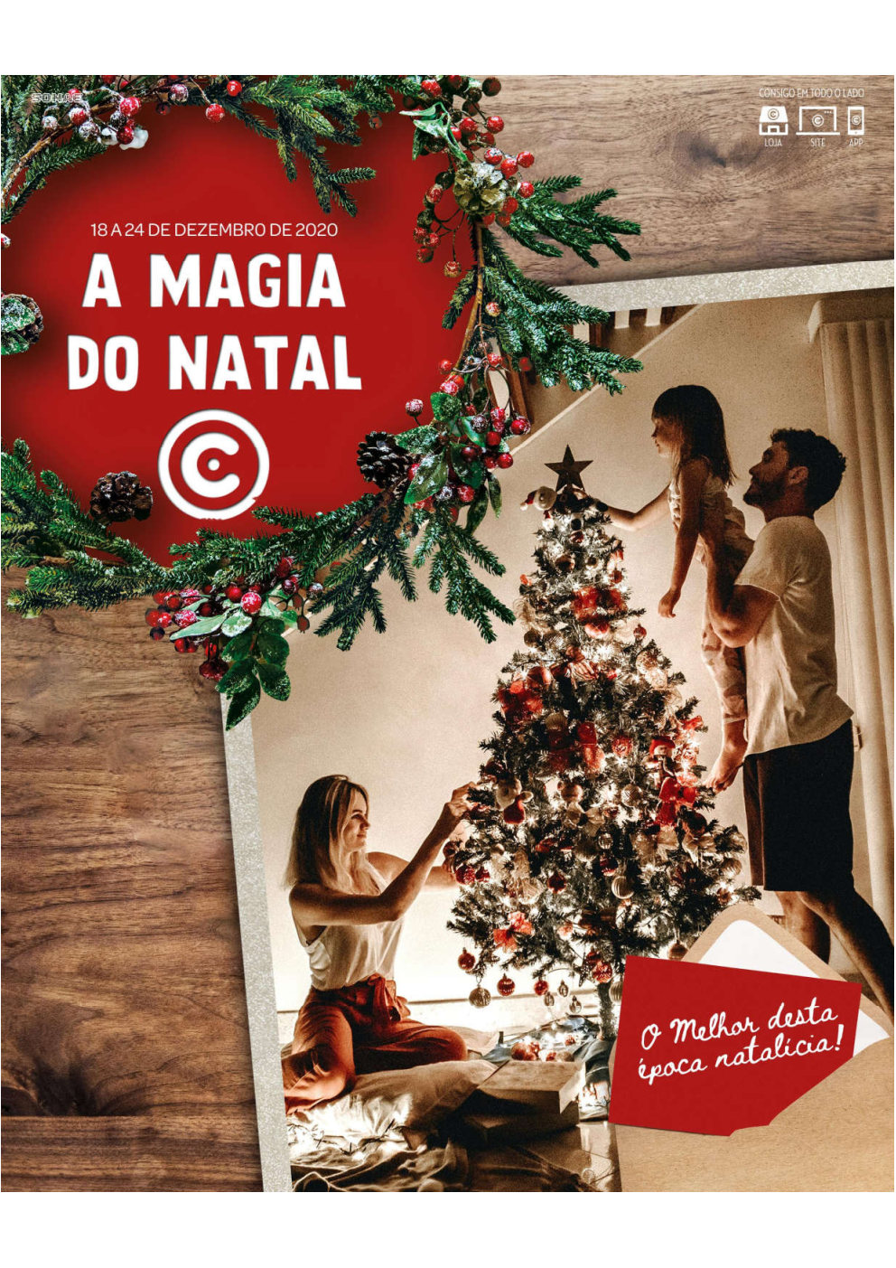 natal continente folheto promocoes Page1