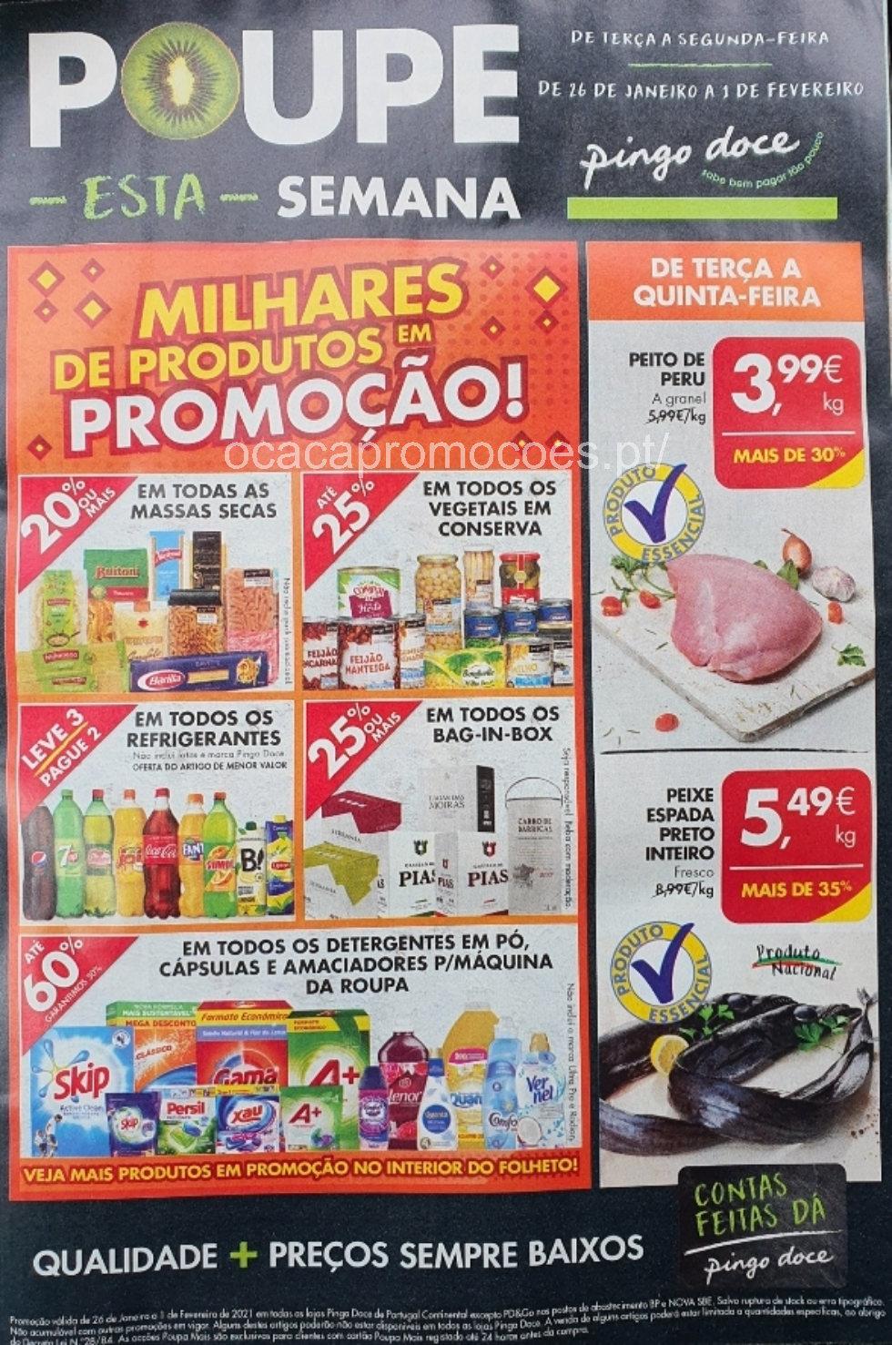 folheto pingo doce promocoes Page1