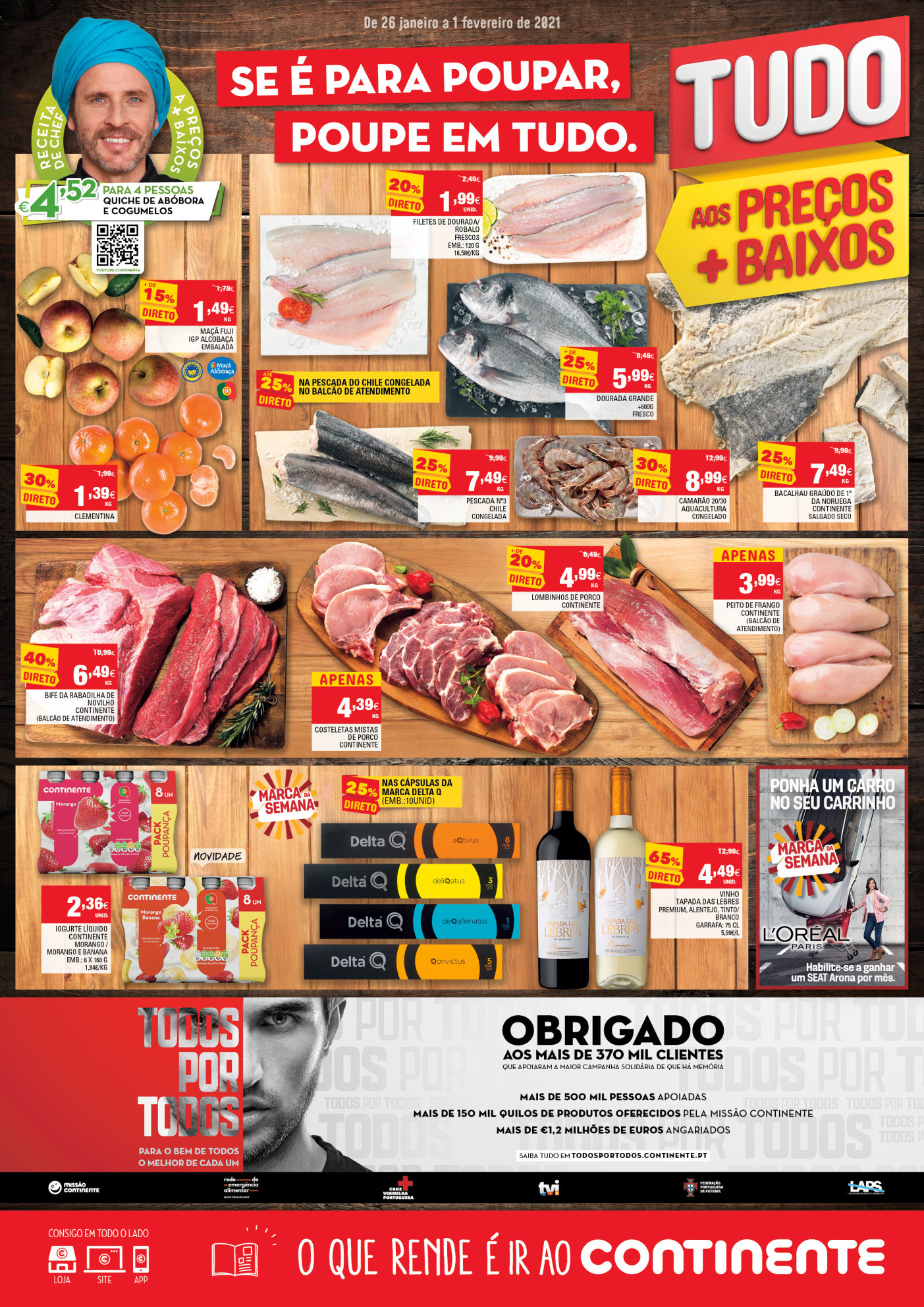 folheto promocos continente Page1