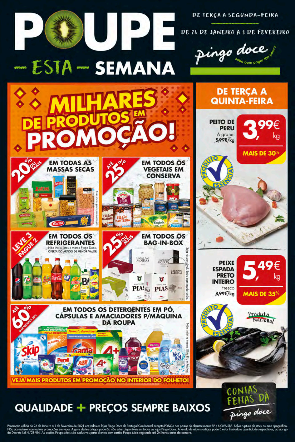 grandes pingo doce folheto promocoes Page1