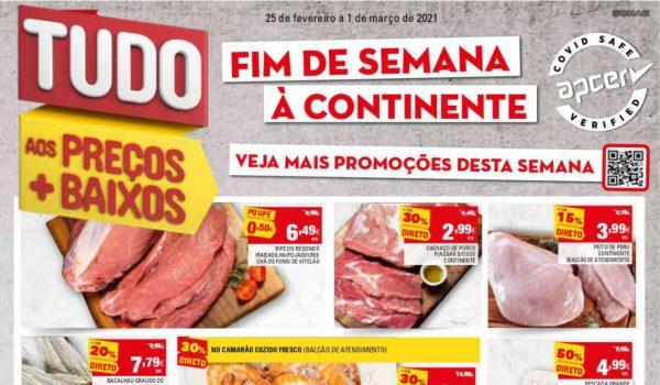 folheto continente fim demana 25 fevereiro 1