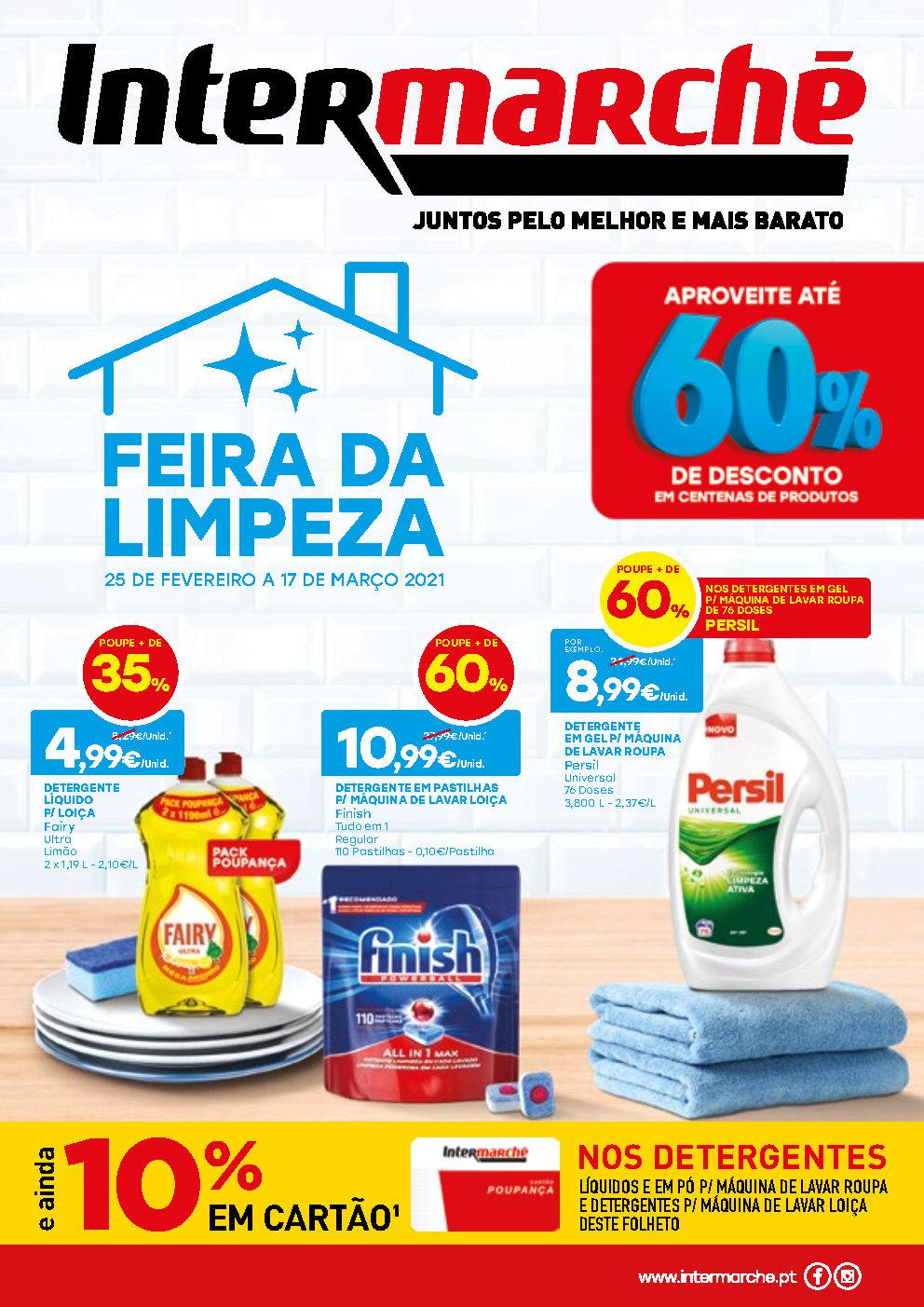folheto intermarche limpeza Page1