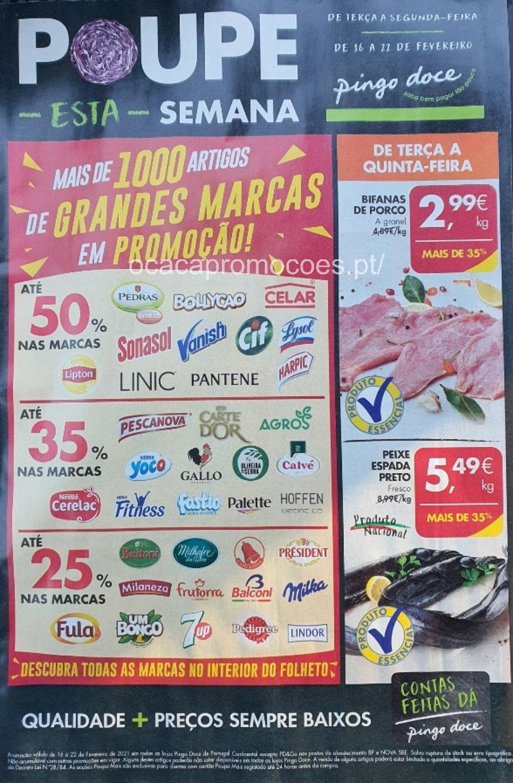 folheto pingo doce antevisao 16 22 fevereiro Page1