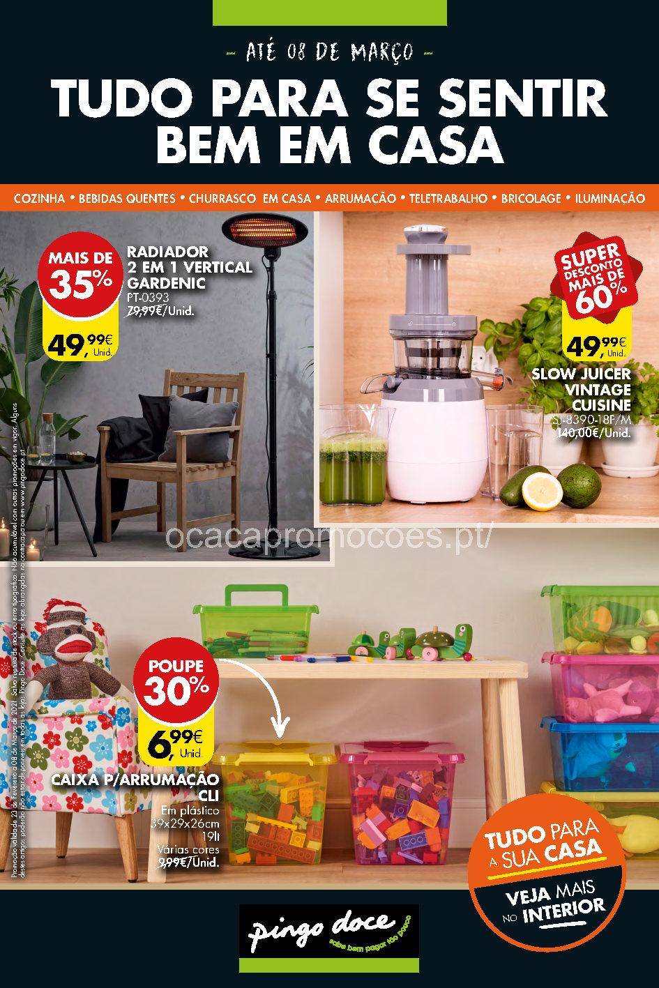 folheto pingo doce bazar casa 23 fevereiro Page1