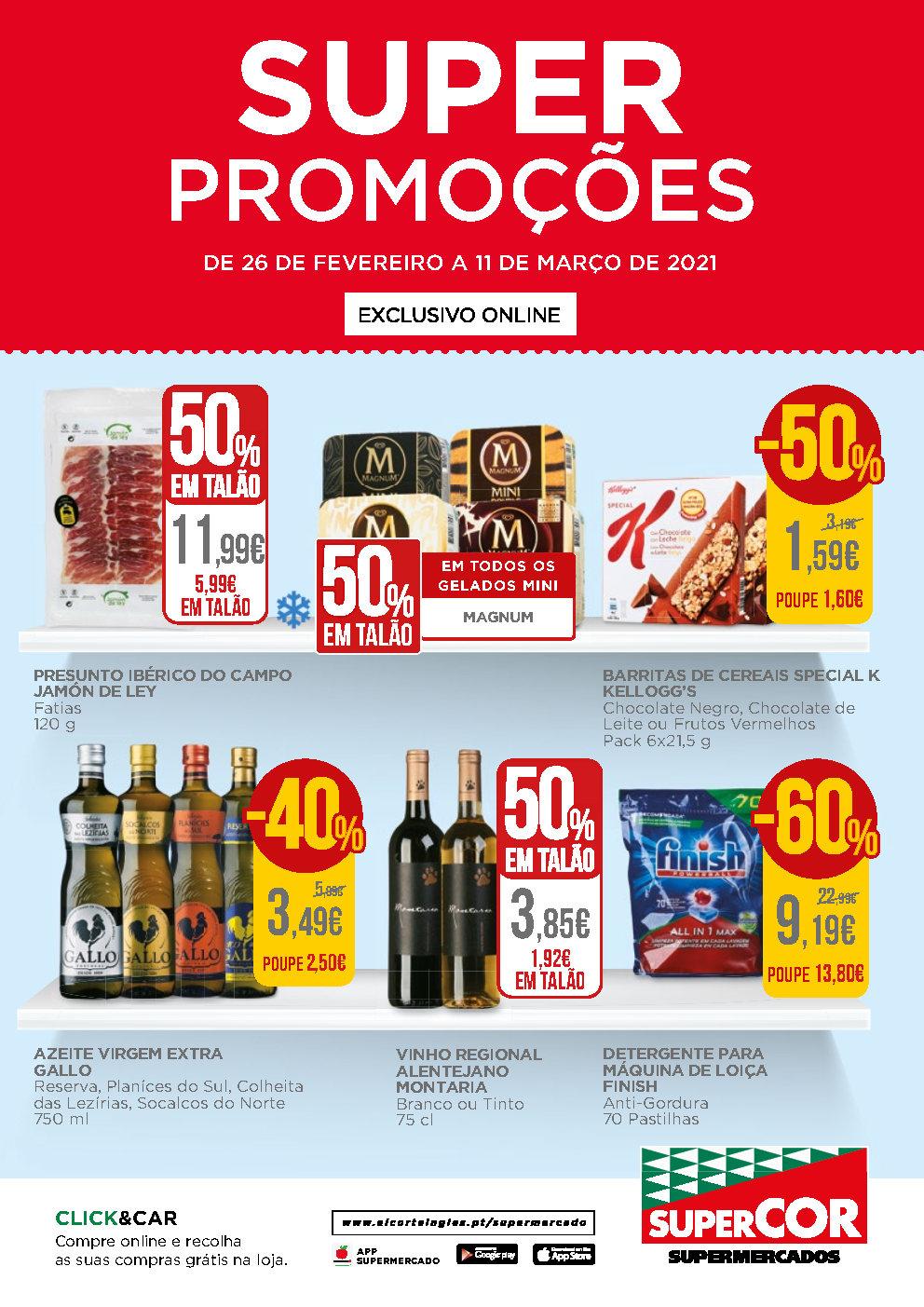 folheto super promocoes 26 fevereiro Page1