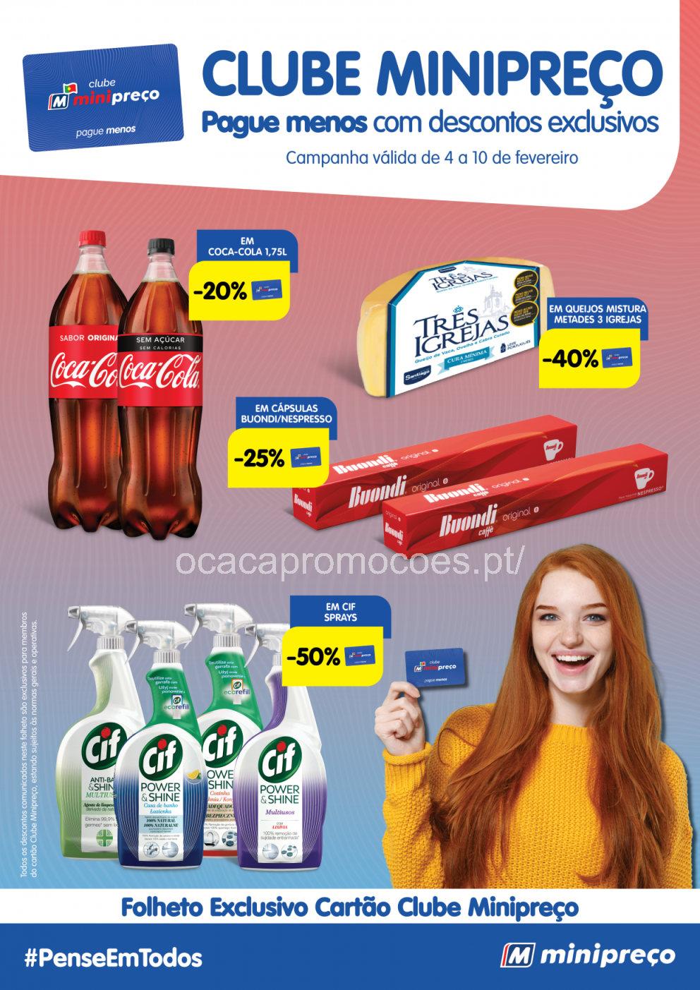 minipreco folheto clube Page1
