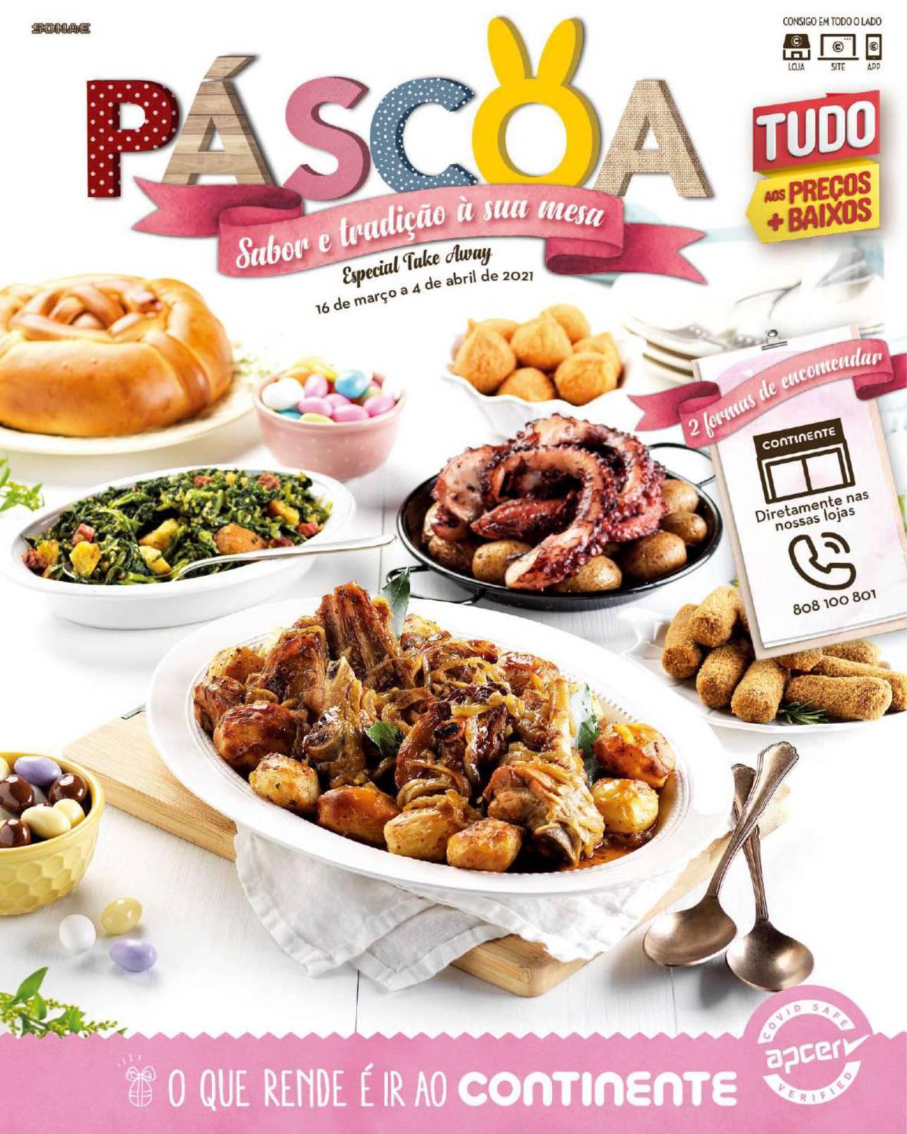 continente folheto pascoa takeaway 16 marco 1