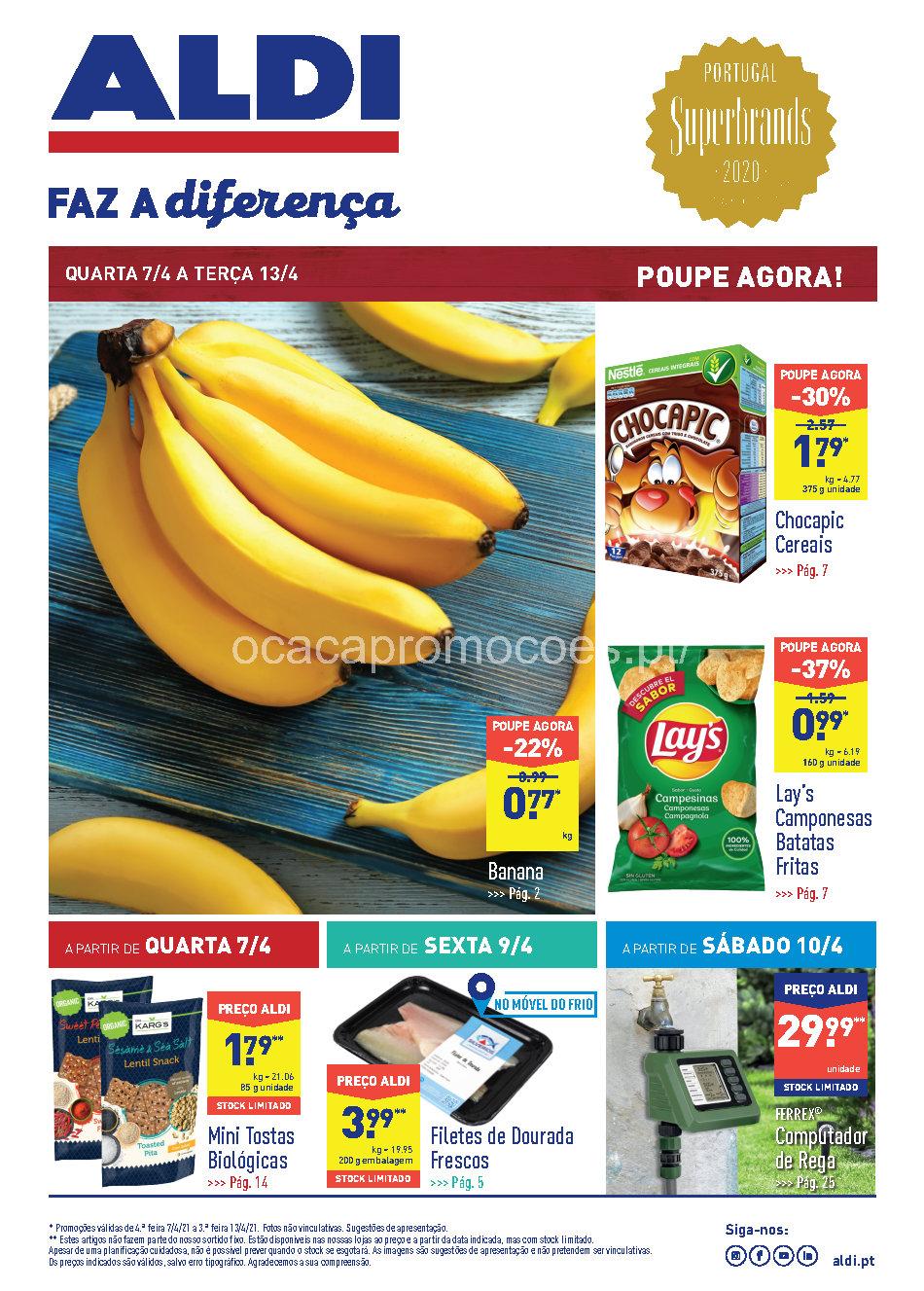 folheto aldi promocoes 7 13 abril Page1