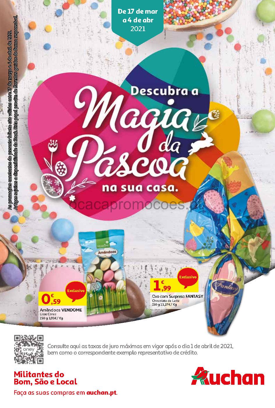 folheto auchan promocoes pascoa 17 marco Page1