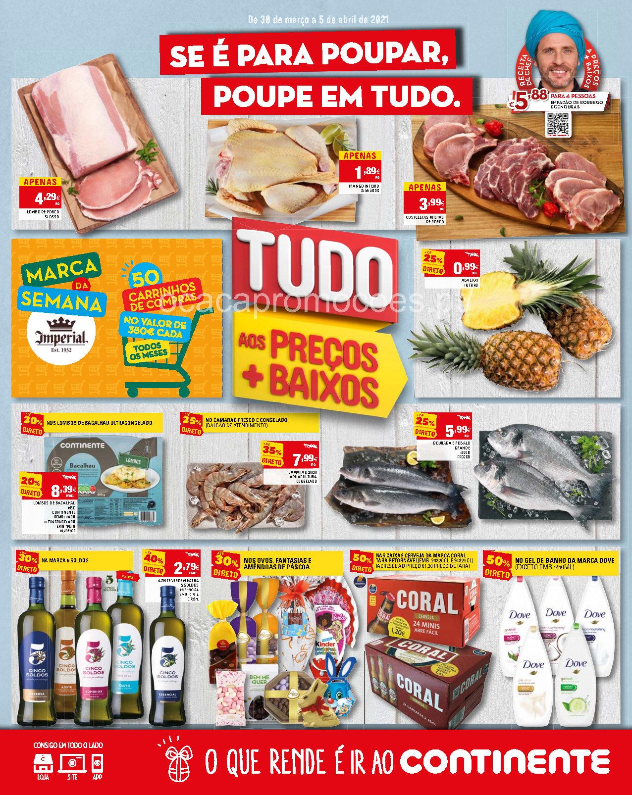 folheto continente madeira 30 marco 5 abril Page1
