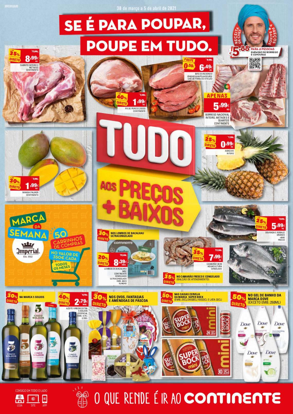 folheto continente promocoes 30 marco 5 abril 1