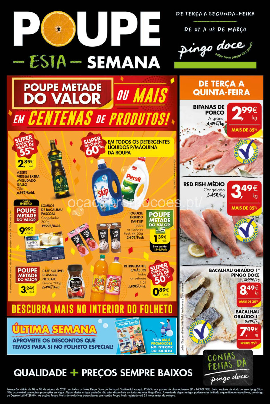 folheto pingo doce 2 8 marco grandes promocoes Page1 1