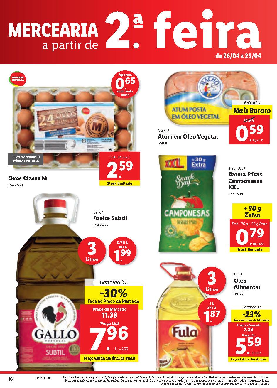 0 antevisao folheto lidl bazar 26 abril promocoes Page1 16