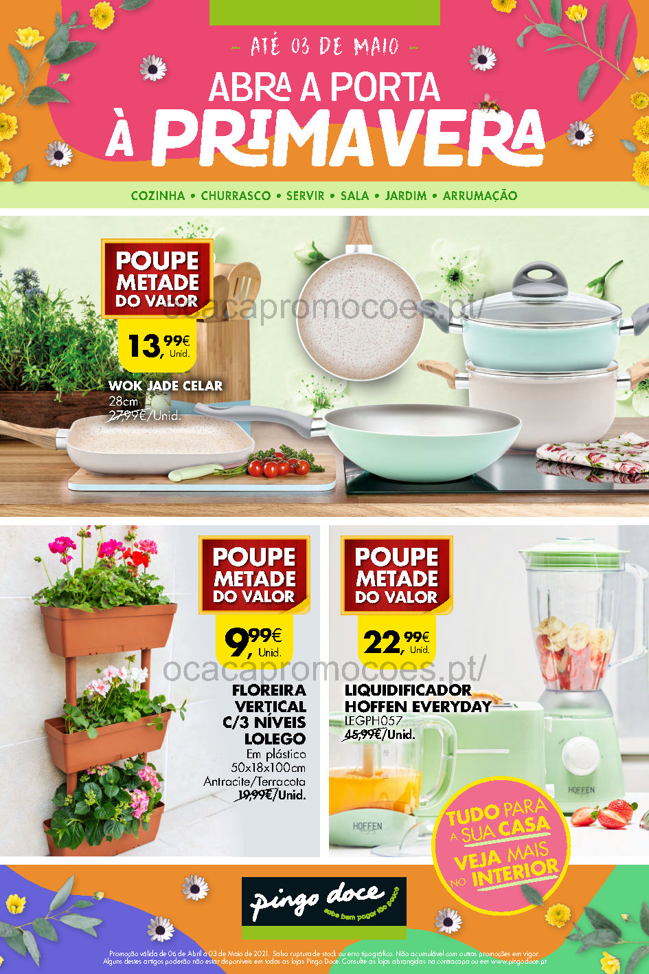 antevisao folheto pingo doce bazar casa 6 abril promocoes Page1