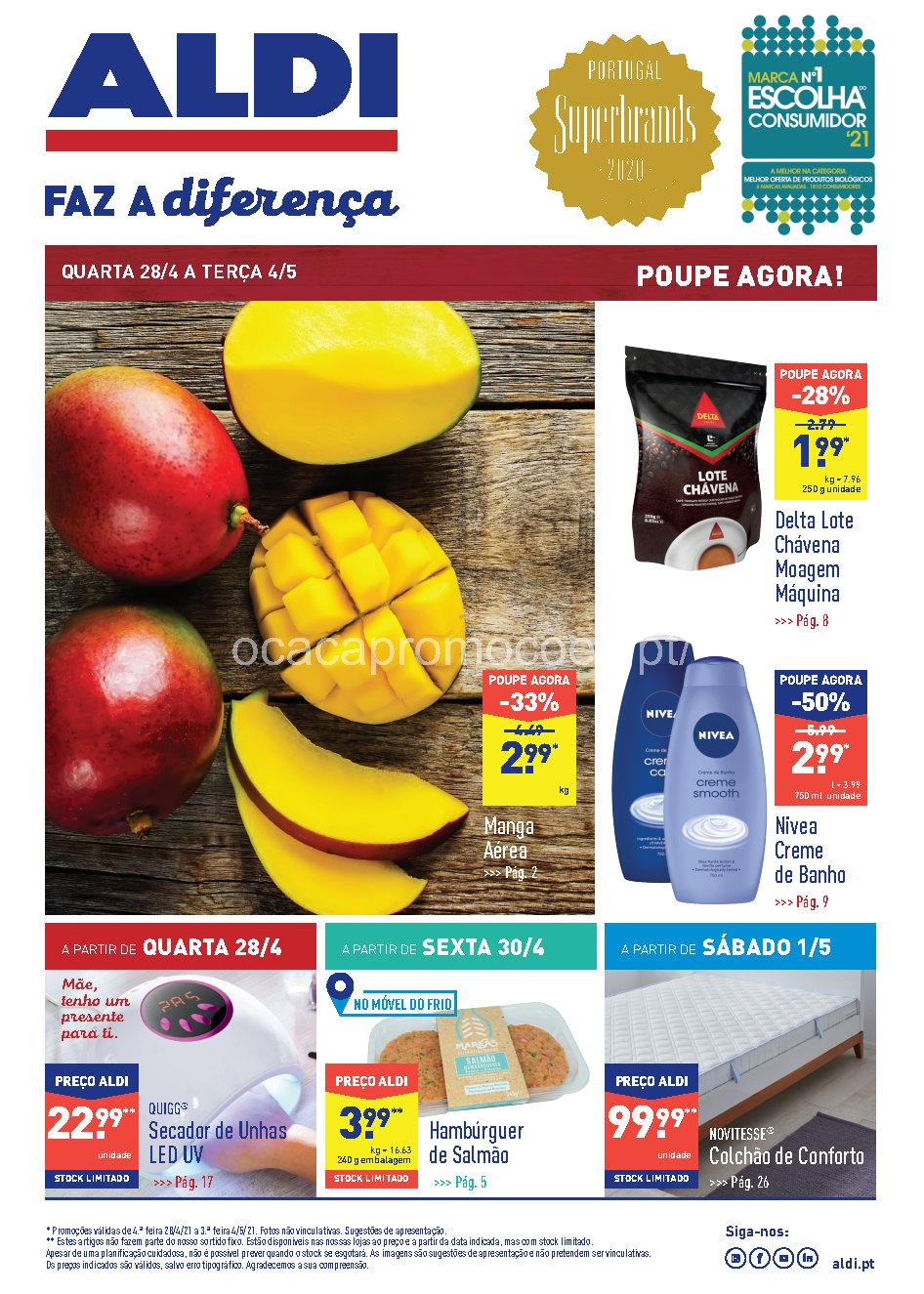 folheto aldi 28 abril 4 maio promocoes Page1