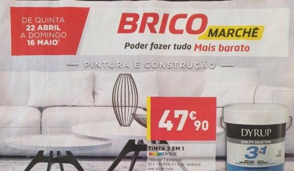 folheto bricomarche promocoes 22 abril 16 maio Page1
