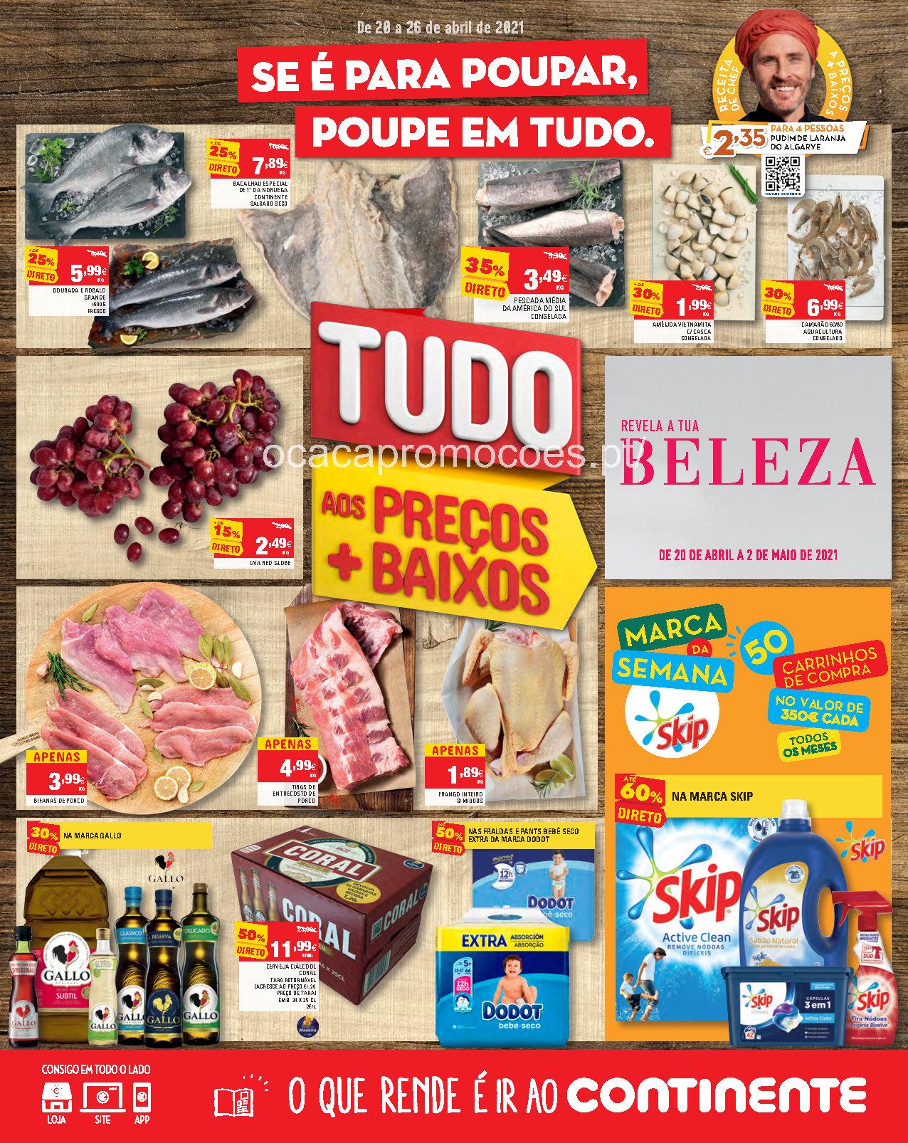 folheto continente madeira promocoes 20 26 abril antevisao Page1