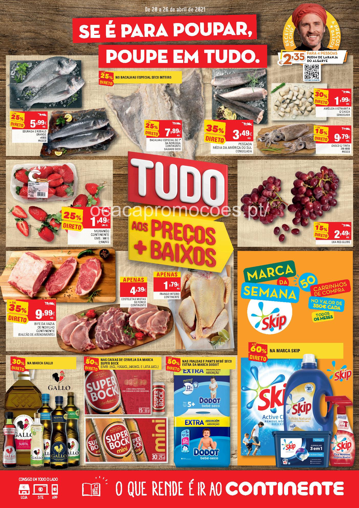folheto continente promocoes 20 26 abril Page1