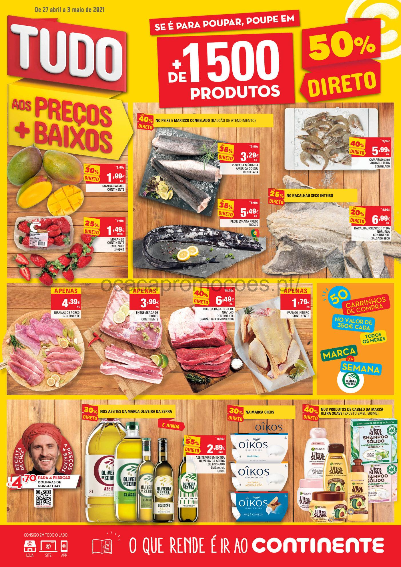 folheto continente promocoes 27 abril Page1