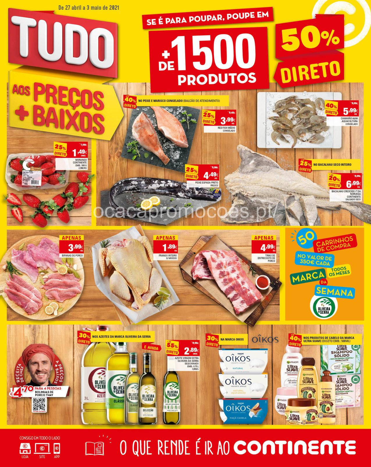 folheto continente promocoes madeira antevisao 27 abril Page1