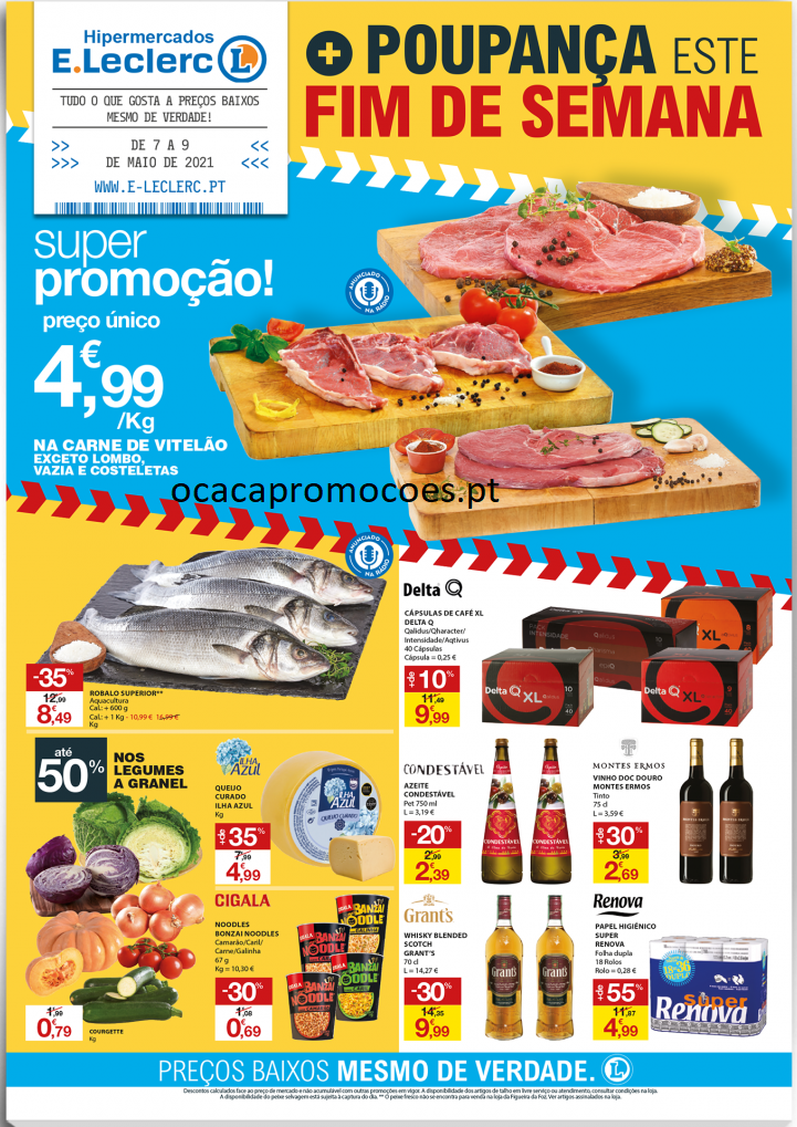 folheto e leclerc promocoes 29 abril 1