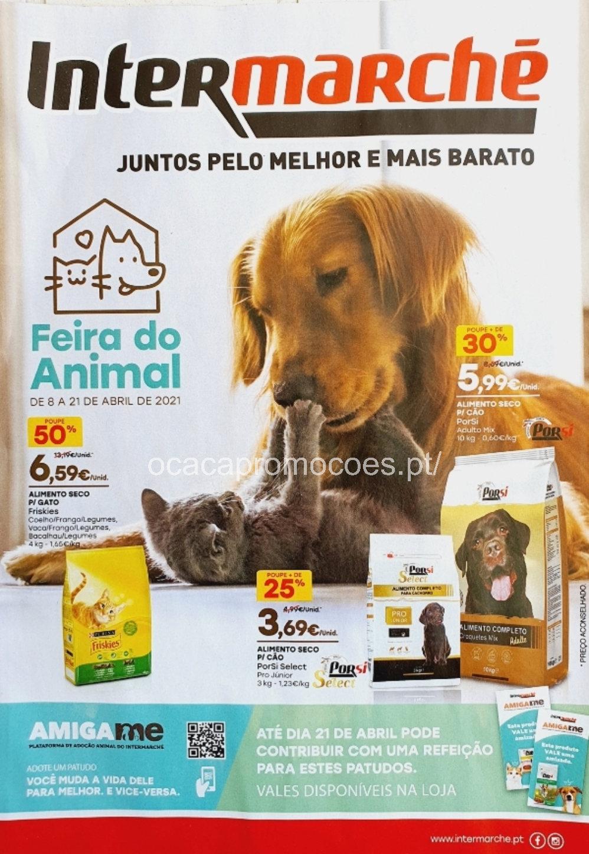 folheto intermarche 8 21 abril promocoes pets Page1