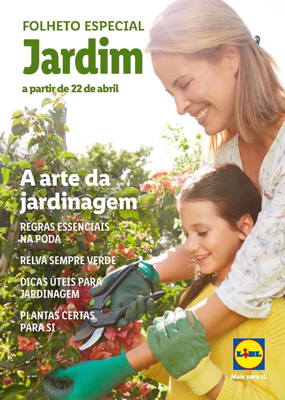 folheto lidl especial bazar jardinagem 22 abril Page1