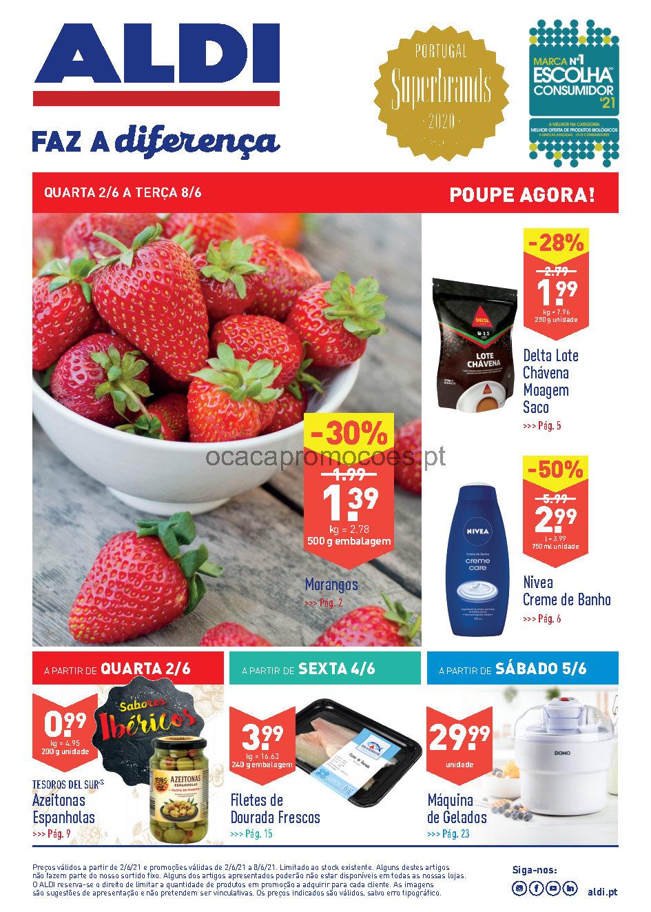 folheto aldi 2 8 junho promocoes Page1