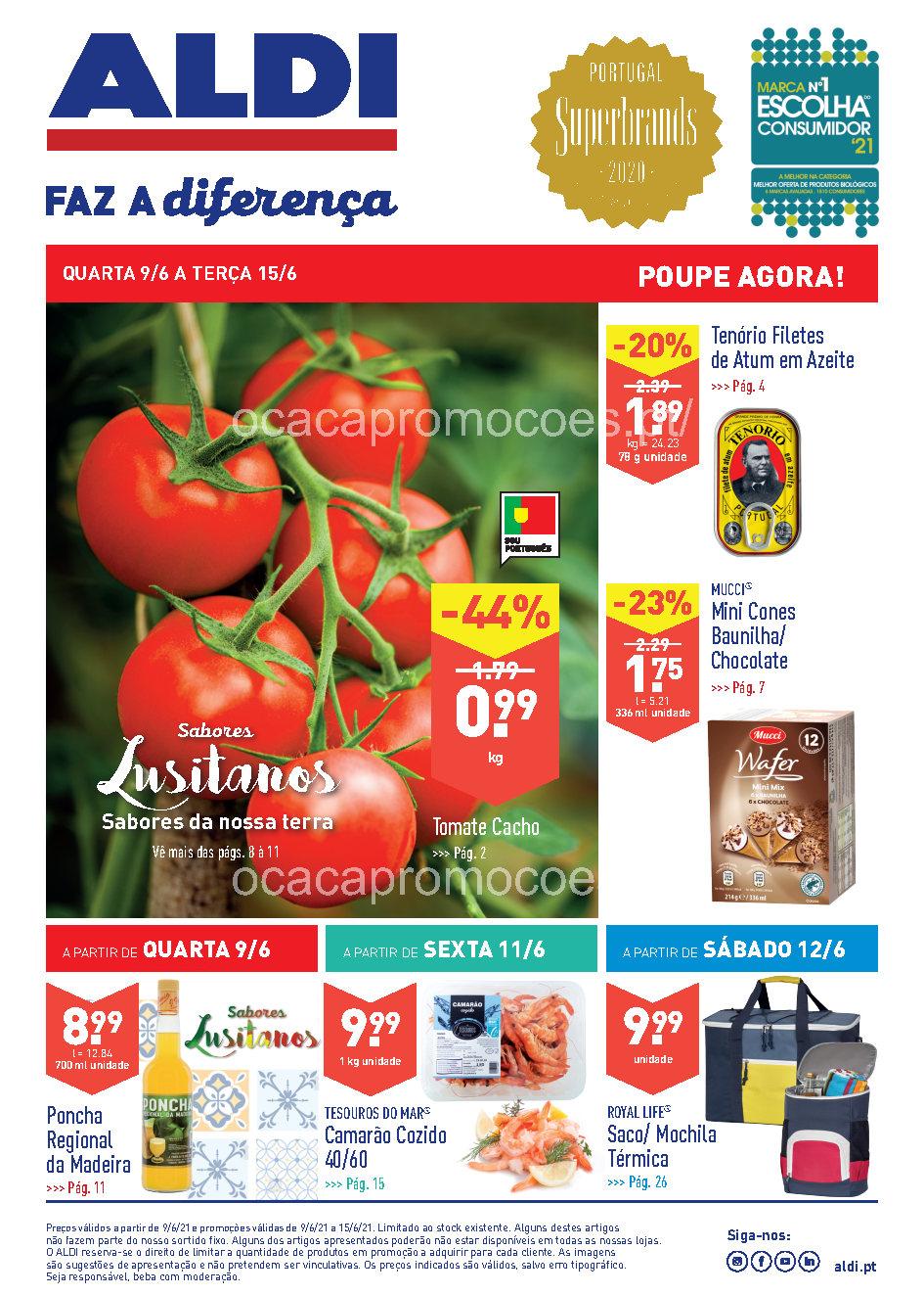 folheto aldi promocoes antevisao 9 15 junho 2021 Page1