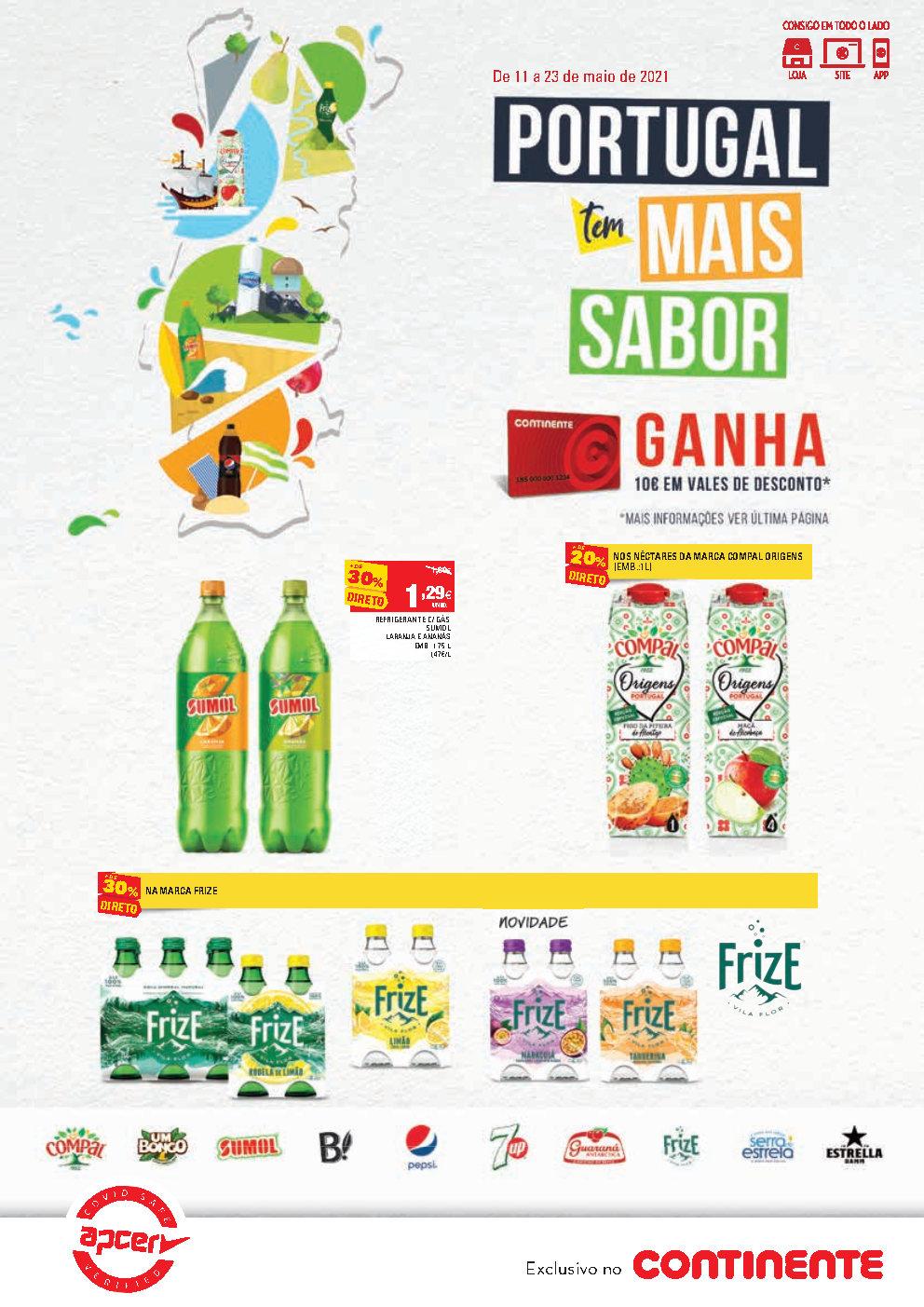 folheto bebidas continente Page1