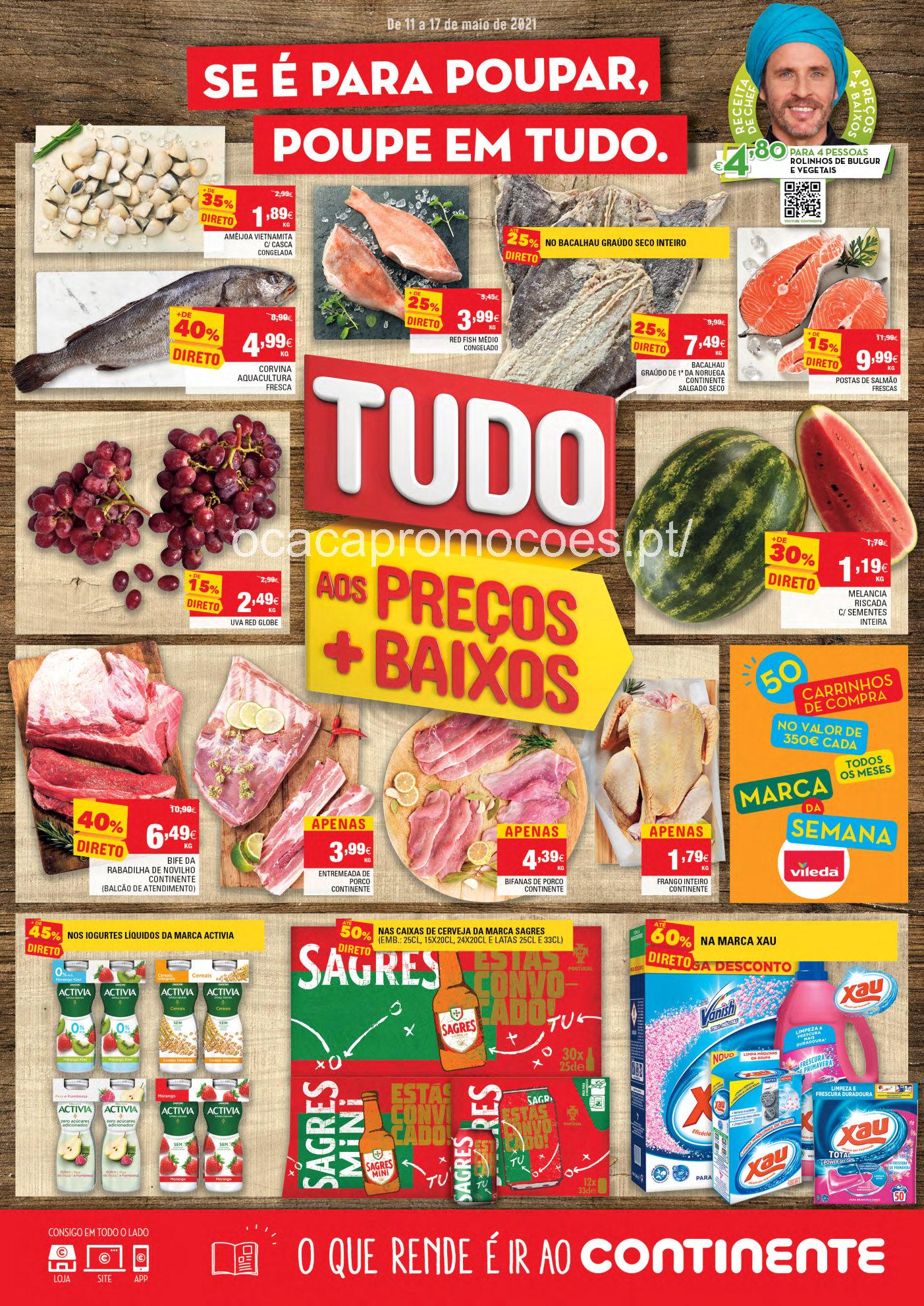 folheto continente promocoes 11 17 maio antevisao Page1
