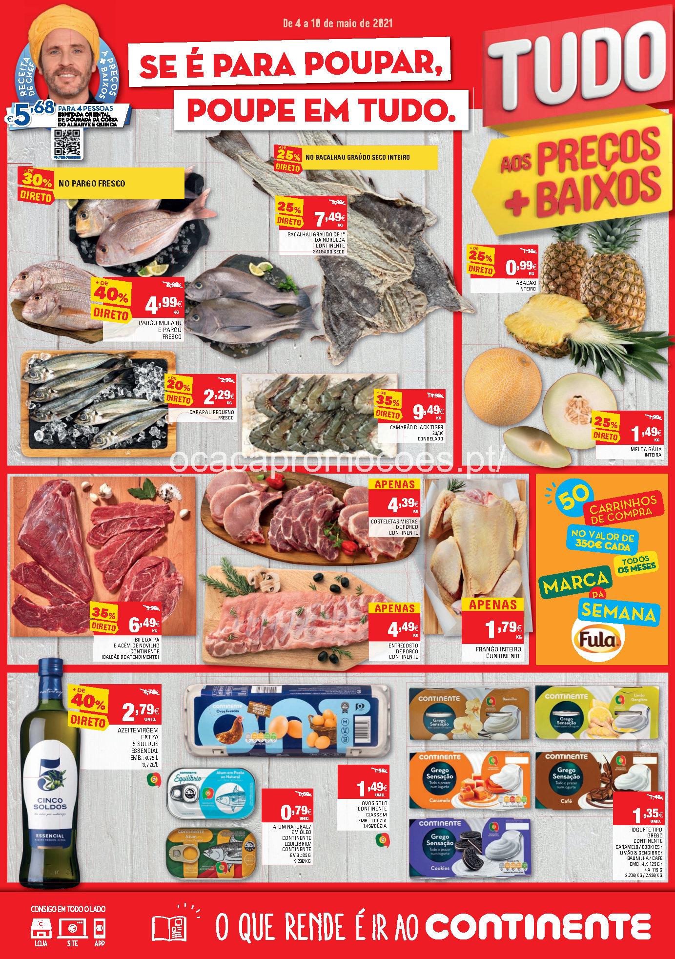 folheto continente promocoes 4 10 maio Page1 1