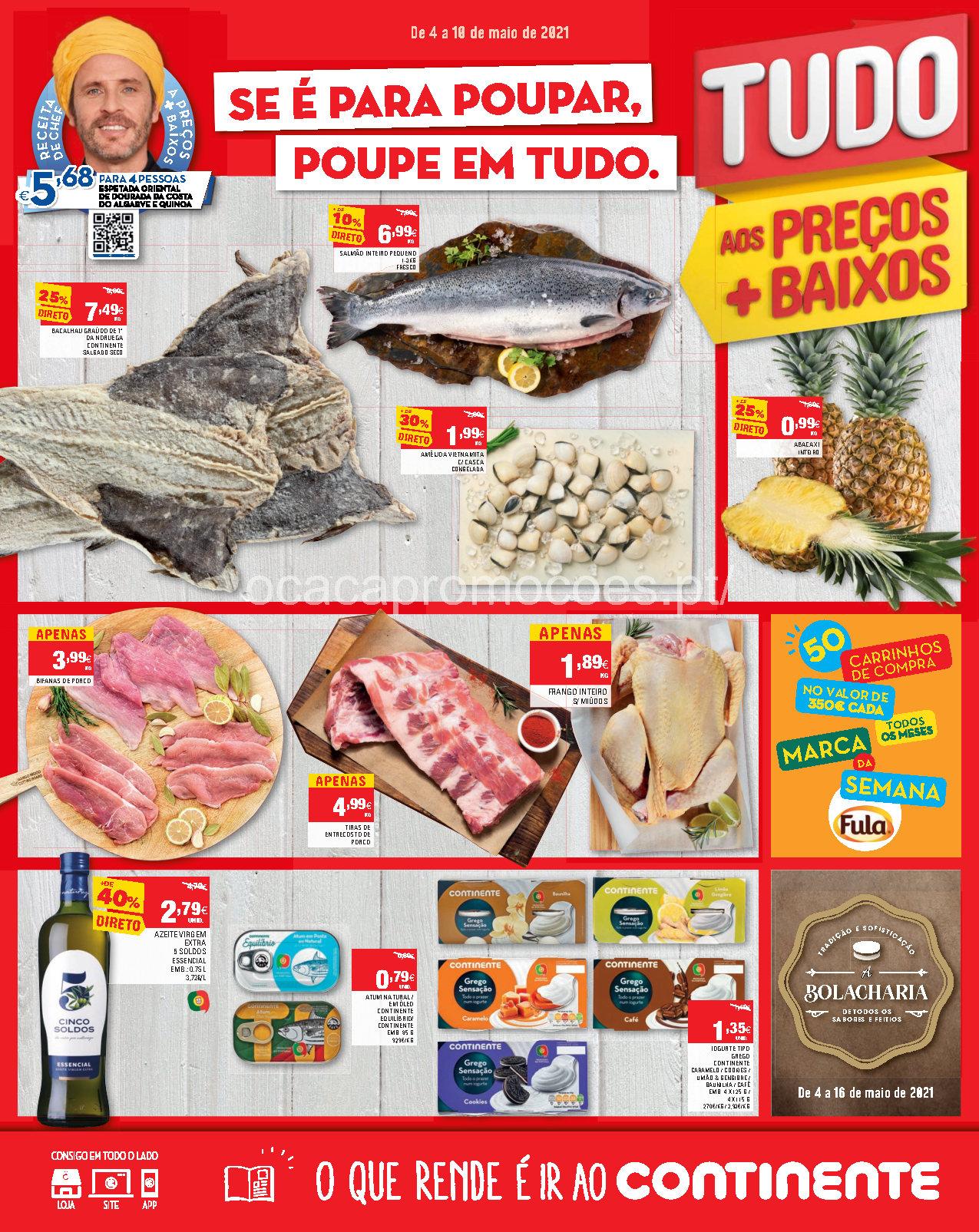 folheto continente promocoes 4 10 maio Page1