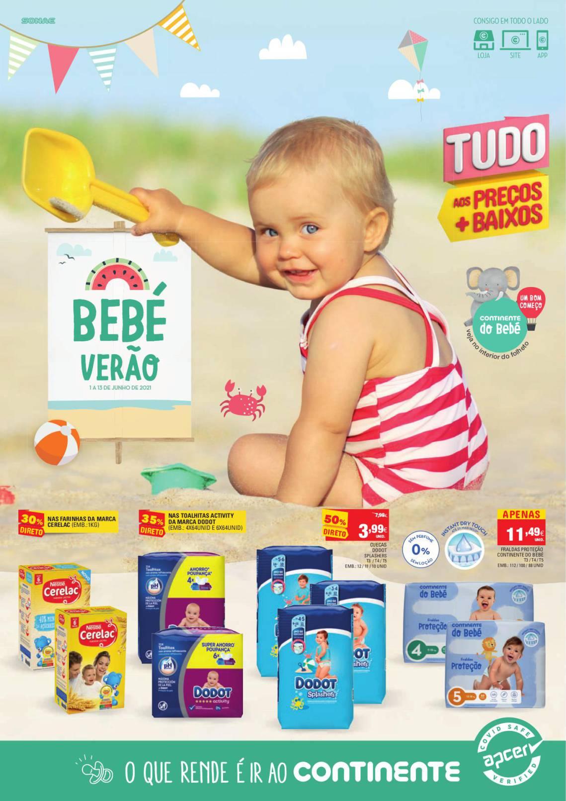 folheto continete feira do bebe promocoes 1 junho 1