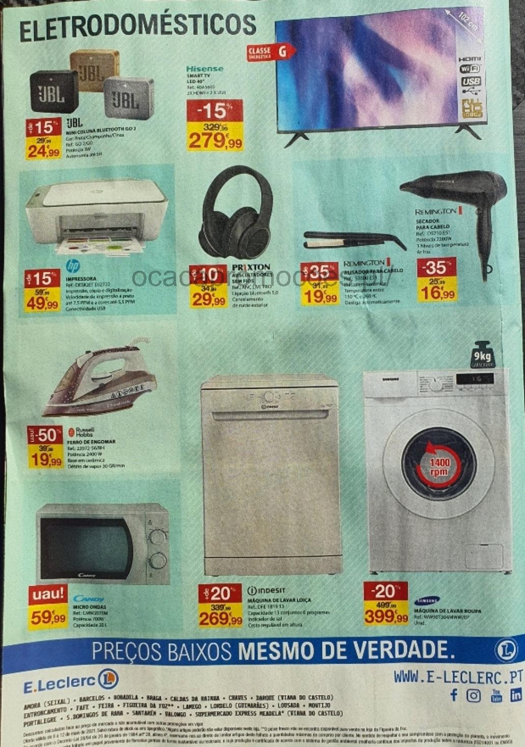 folheto e leclerc promocoes 6 12 maio Page40