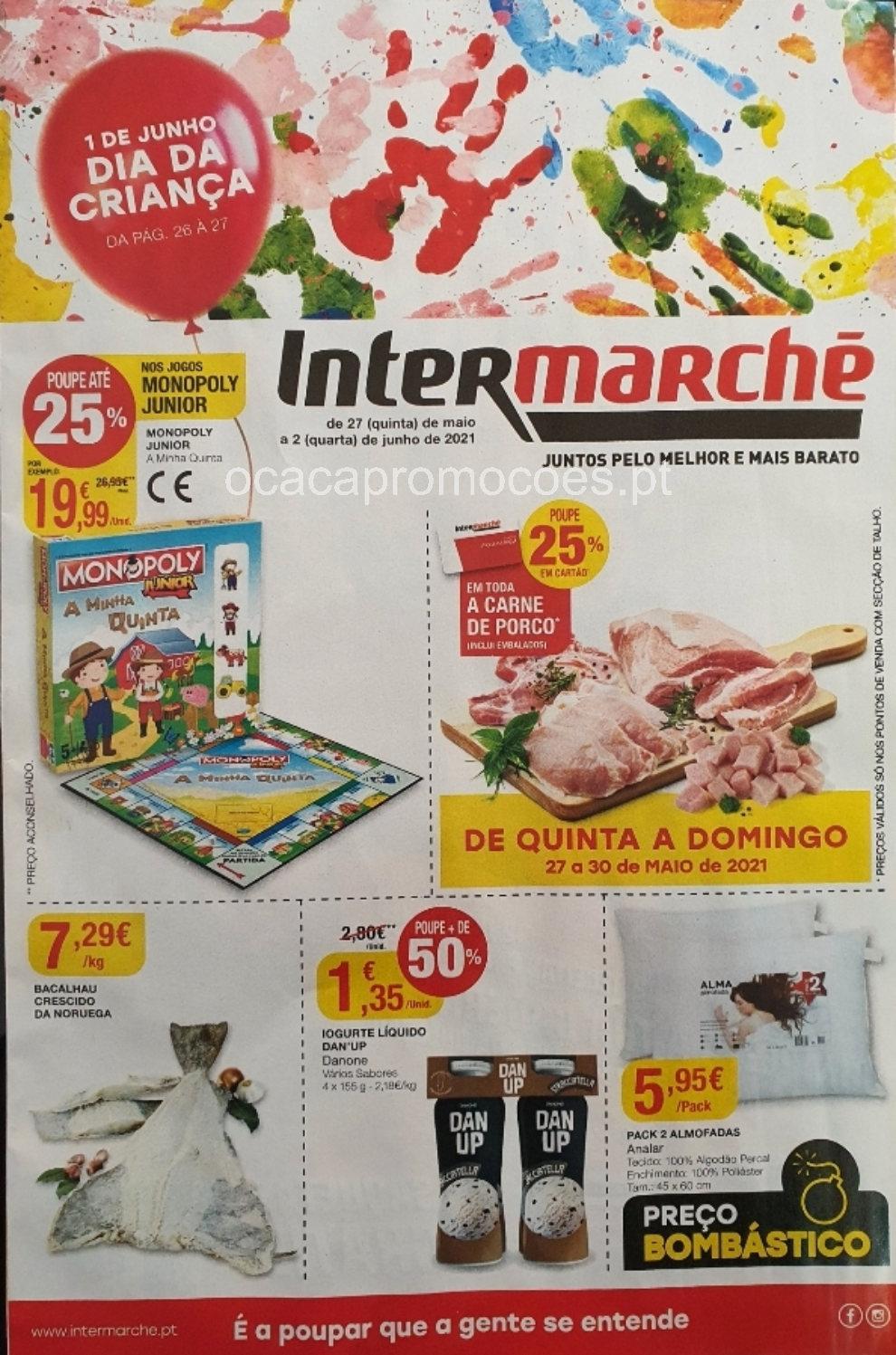folheto intermarche promocoes 27 maio 2 junho Page1