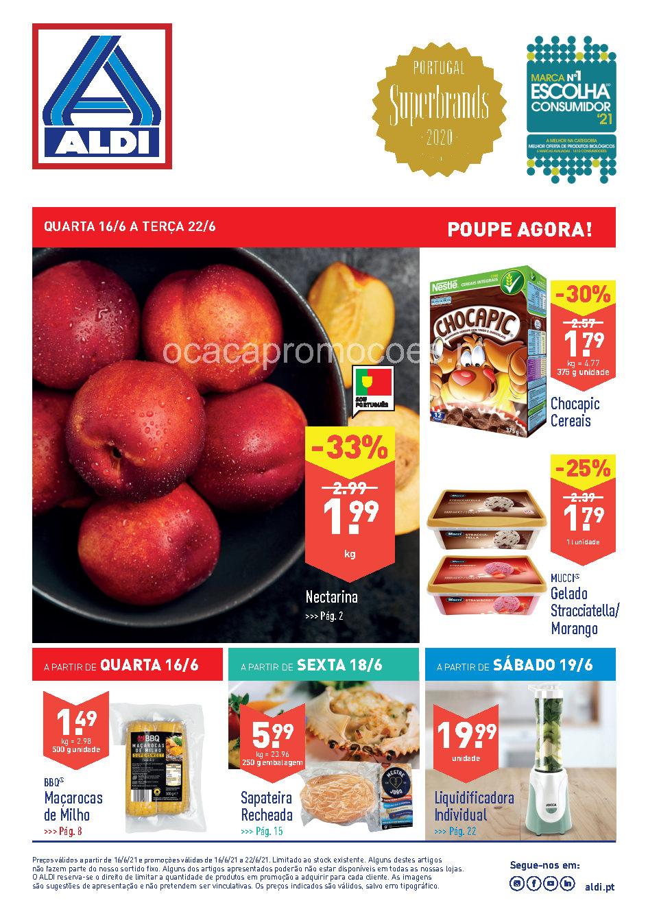 folheto aldi 16 22 junho promocoes Page1
