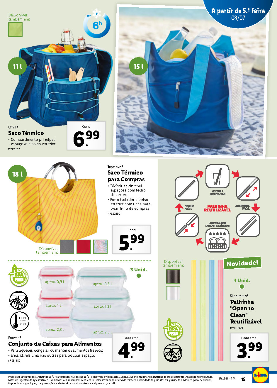 bazar folheto lidl 5 julho 11 julho bazar 2021 promocoes Page15 1