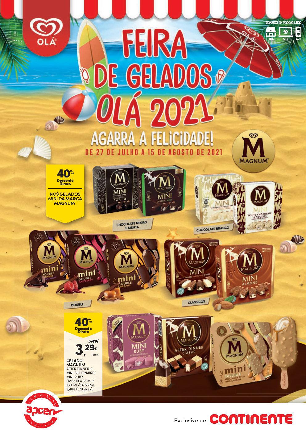 feira gelados folheto continente 27 julho Page1