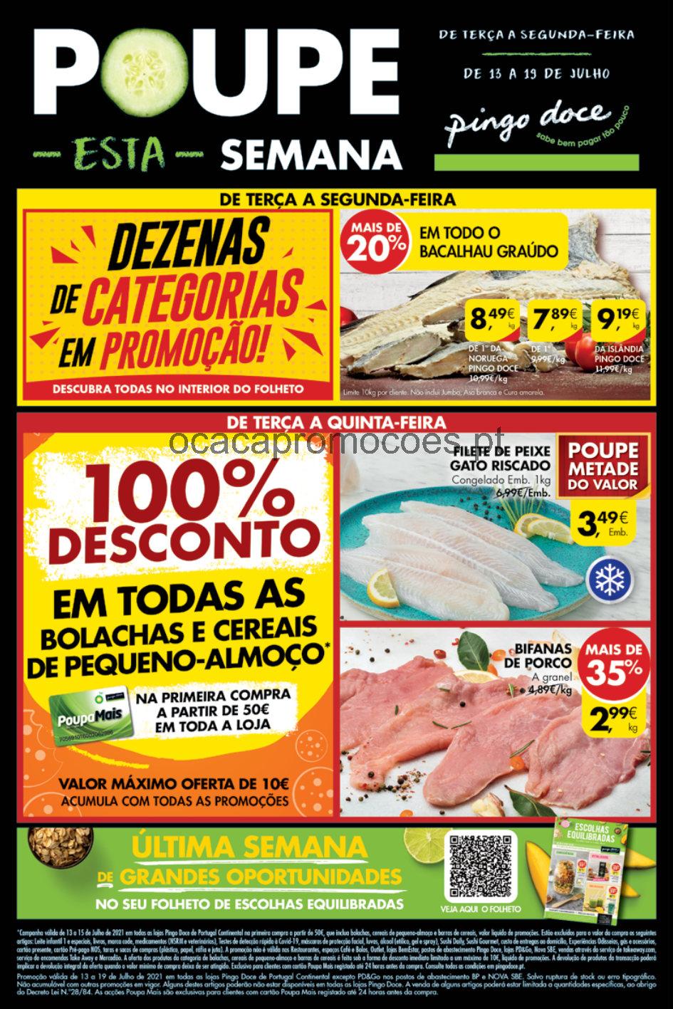folheto pingo doce lojas medias 13 19 julho promocoes Page1