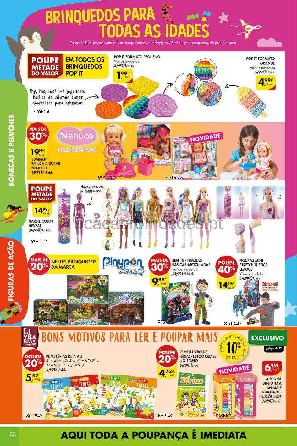 pingo doce lojas grandes 20 26 julho folheto Page38