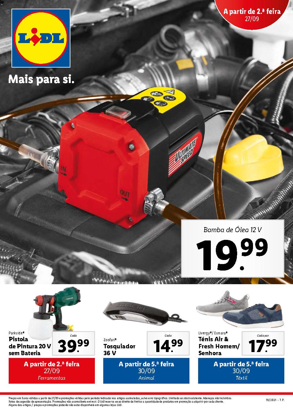 folheto lidl bazar promocoes descontos 27 setembro 3 outubro Page1