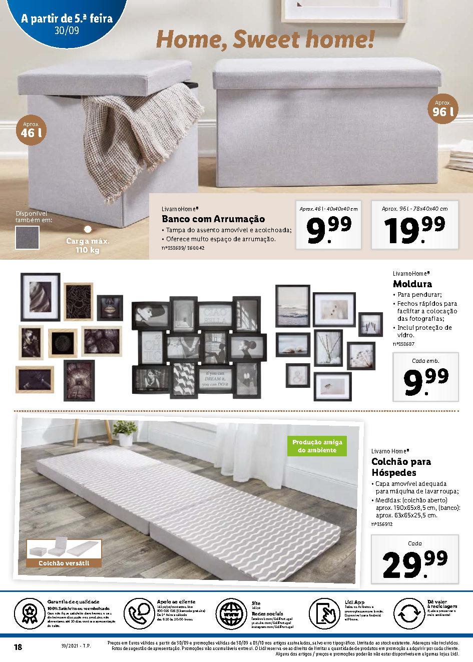 folheto lidl bazar promocoes descontos 27 setembro 3 outubro Page18