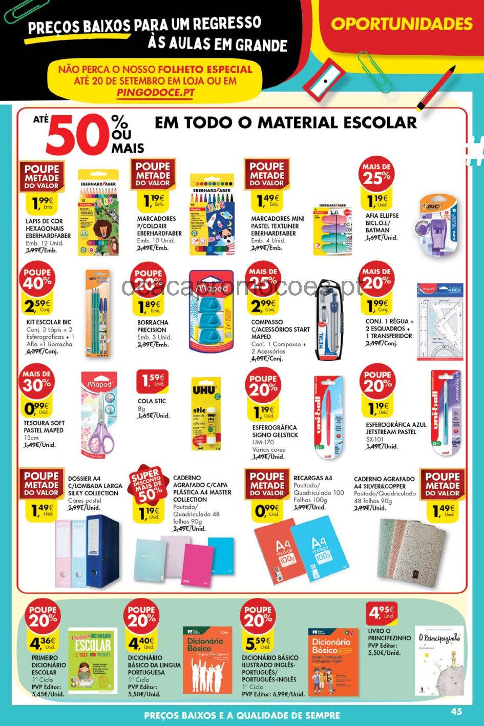 pingo doce folheto 14 setembro 20 setembro Page45